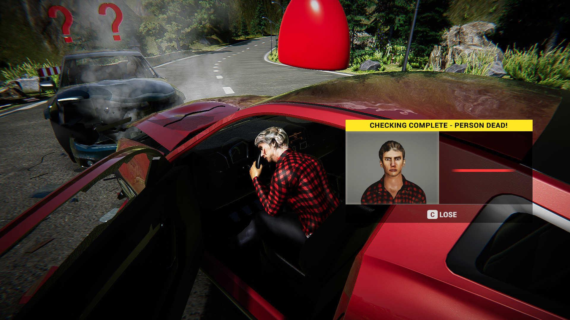 车祸现场模拟器