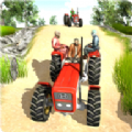 乡村拖拉机驾驶